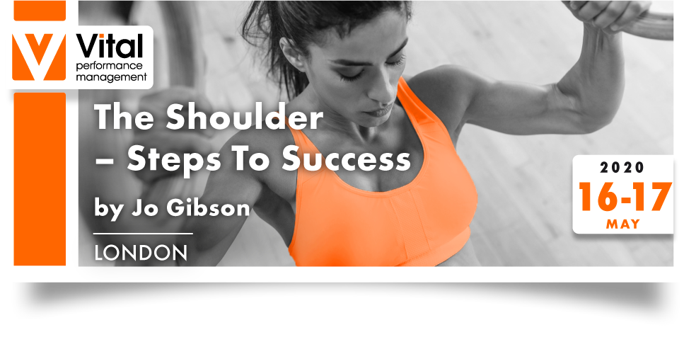 The Shoulder Steps to Success with Jo Gibson 16-17 May 2020
