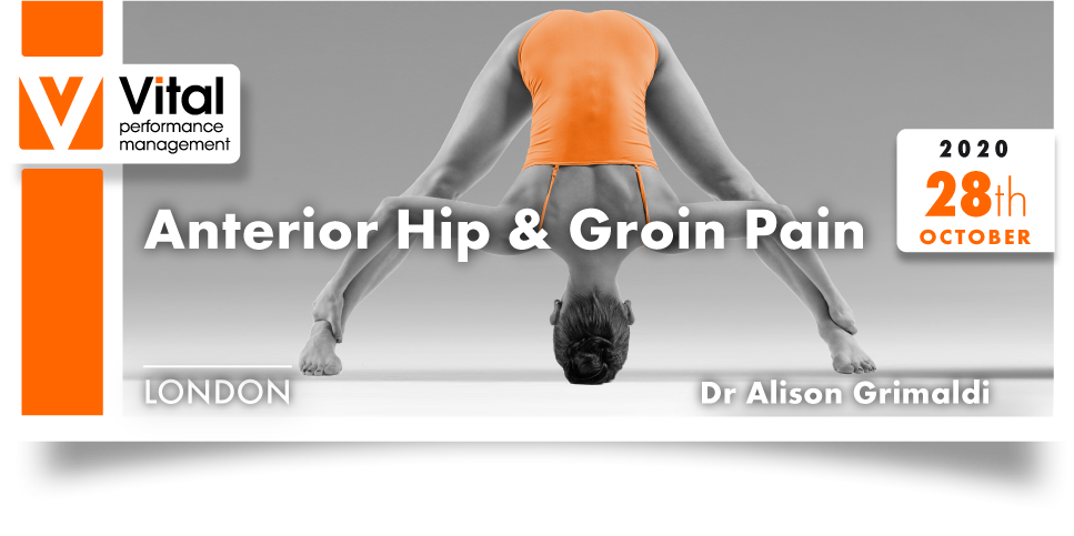 Mastering Movement Hip and Pelvis Dr. Alison Grimaldi 28 October 2020 London