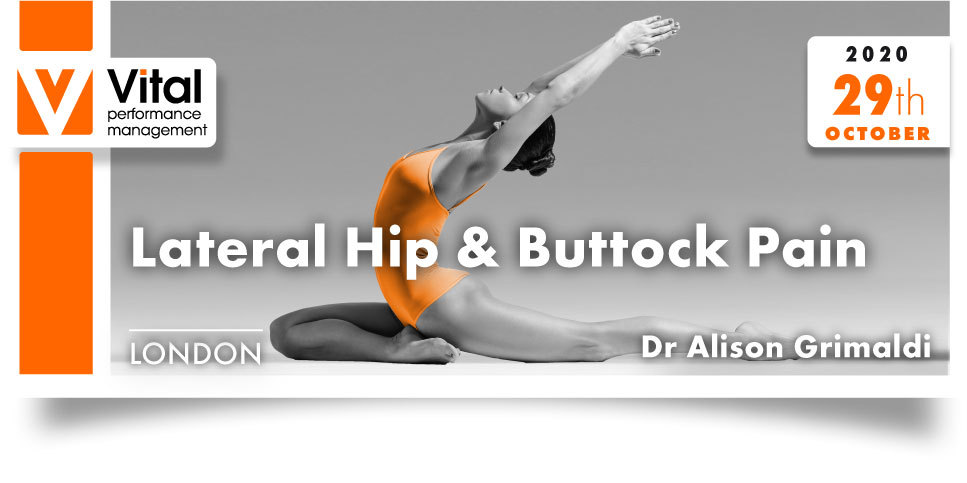 lateral hip and buttock pain 29 October 2020 Dr. Alison Grimaldi