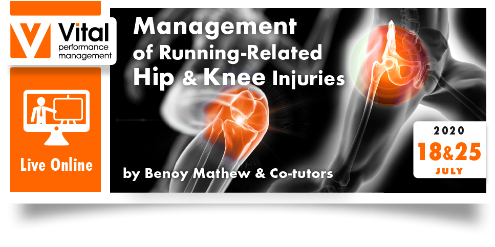 Management of running related hip and knee injuries