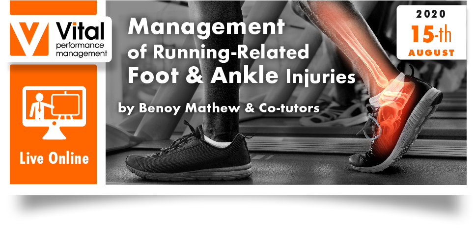 Management of running related ankle and foot injuries