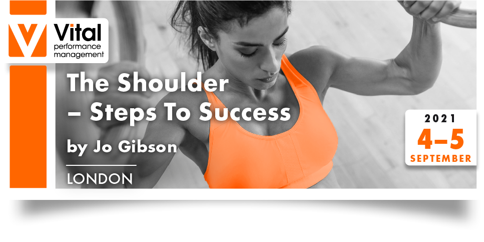 THE SHOULDER STEPS TO SUCCESS 4th and 5th September 2021