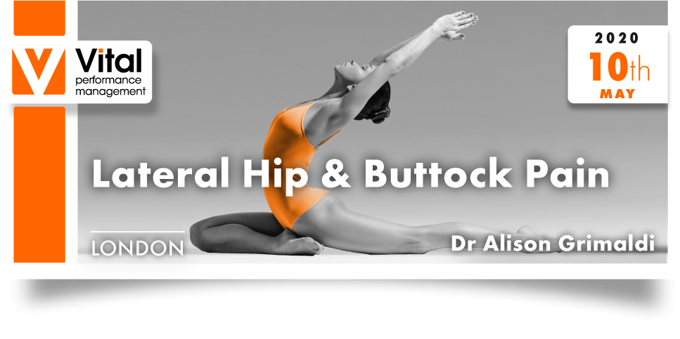 lateral hip and buttock pain 10 May 2020 Dr. Alison Grimaldi