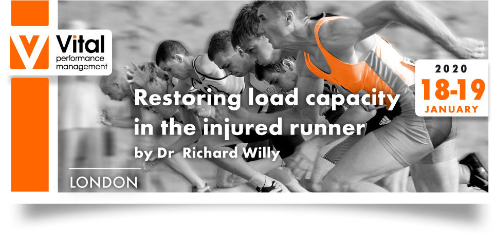 Restoring load capacity in the injured runner Dr Richard Willy 18-19 February 2020