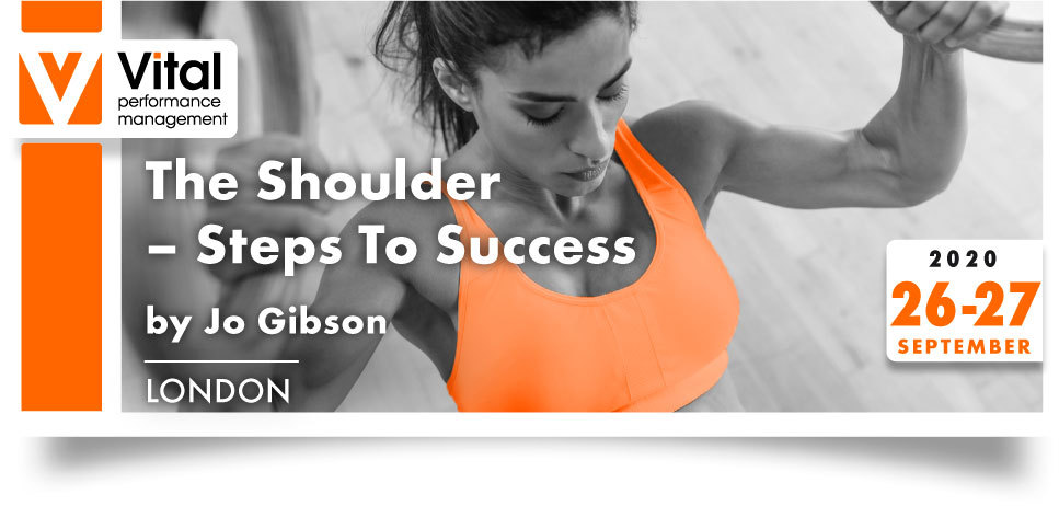 The Shoulder Steps to Success with Jo Gibson 26-27 September 2020